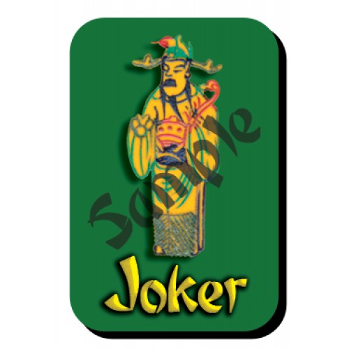 mahjongtilestickers™ -- Royal Uncle Ts'ao Joker™