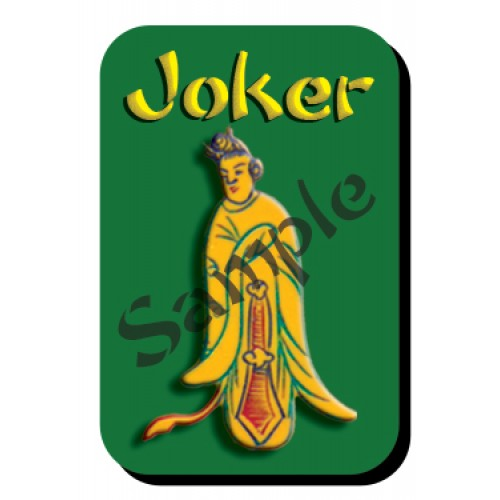 mahjongtilestickers™ -- Winter Princess Joker™
